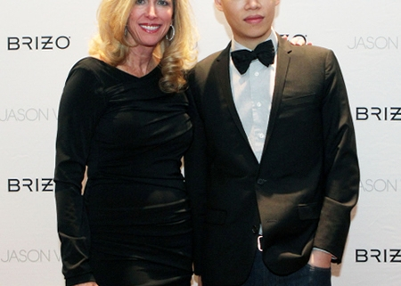 Patricia Davis Brown and Jason Wu