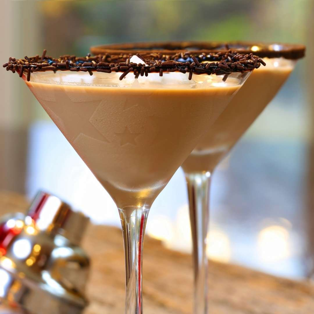 Be Mine - Valentine Martinis - for the love of chocolate (martini)