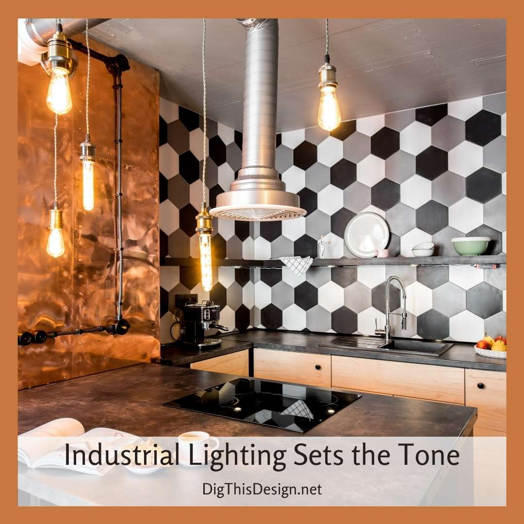 Industrial Lighting Sets the Tone