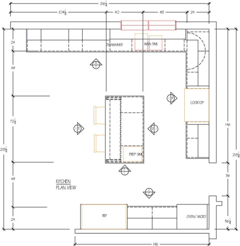 Industrial Kitchen Layout Plan: 3 Pro Tips For DIY Home Improvement