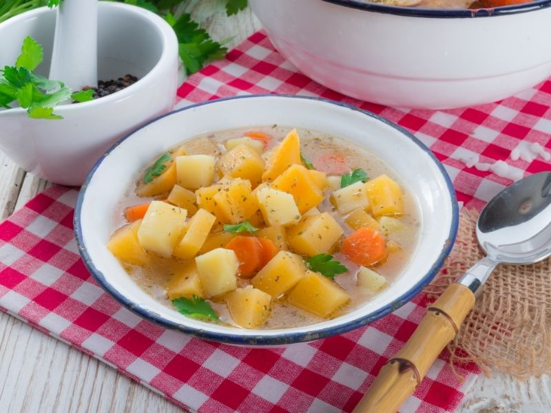Celebrate St Patrick's Day with These Warm Comfort Recipes - Hearty St. Patty's Day Veg-All Soup