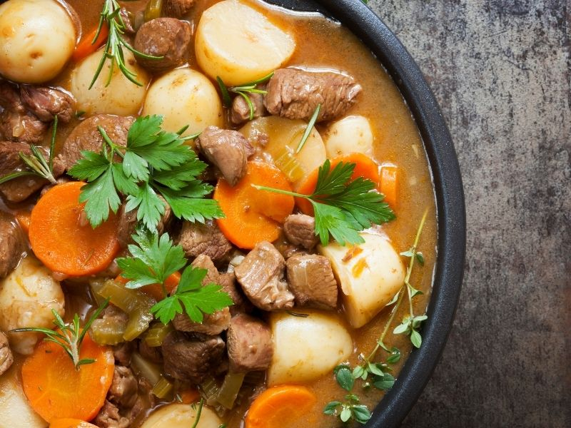 Celebrate St Patrick's Day with These Warm Comfort Recipes - Scots Irish Stew