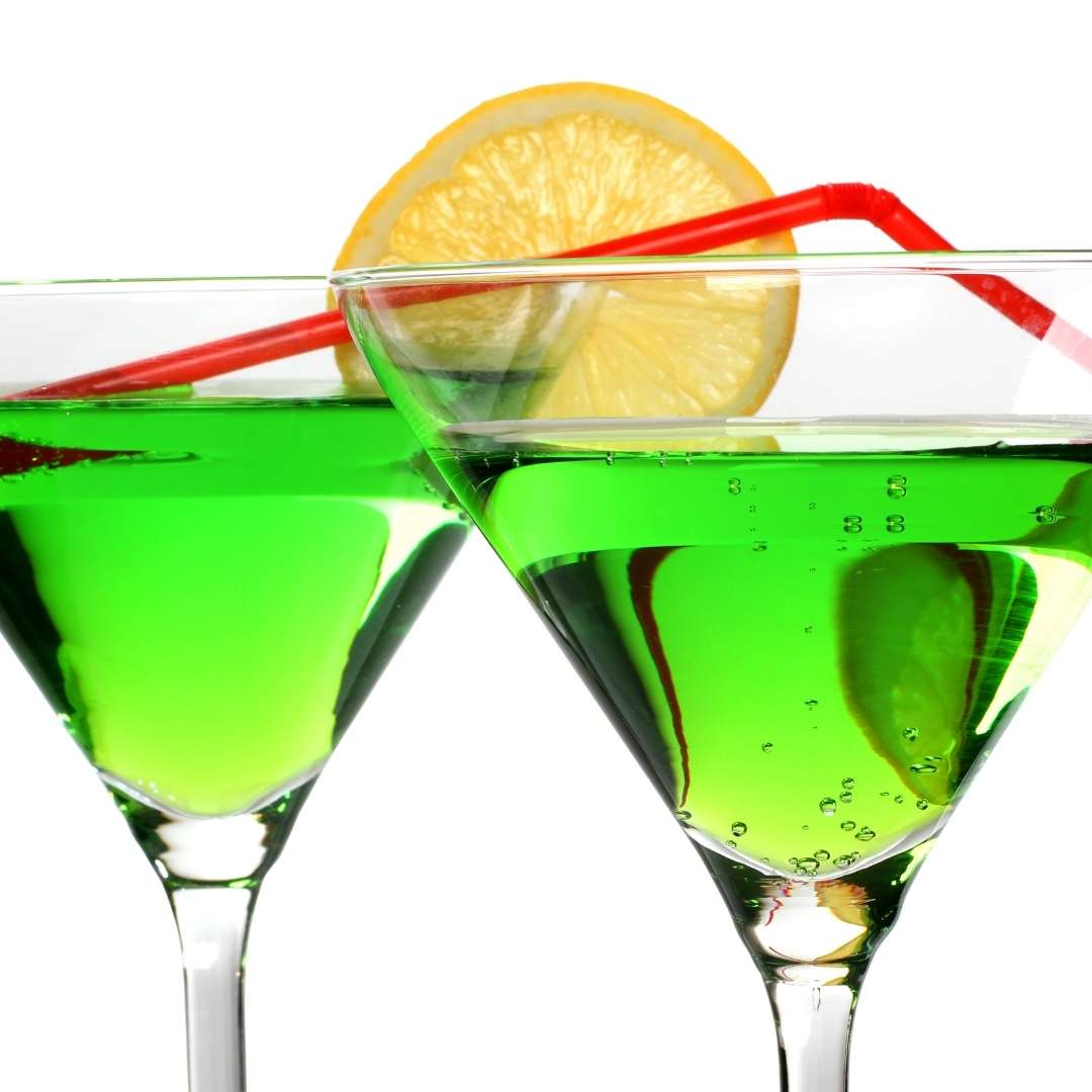 Low Calorie St. Patty's Day Drink Recipes - Kiss Me I'm Irish