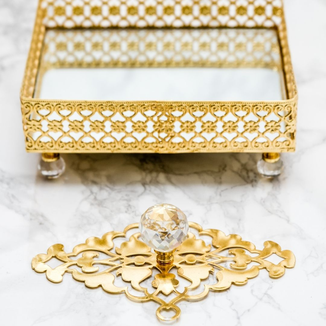 Tips to Get Organized from a Professional Organizer - A Decorative Tray