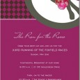 The invitation you send for your special event sets the tone for the entire experience.  Whether it's formal, fun, sweet or trendy, there is a lot to be said for...