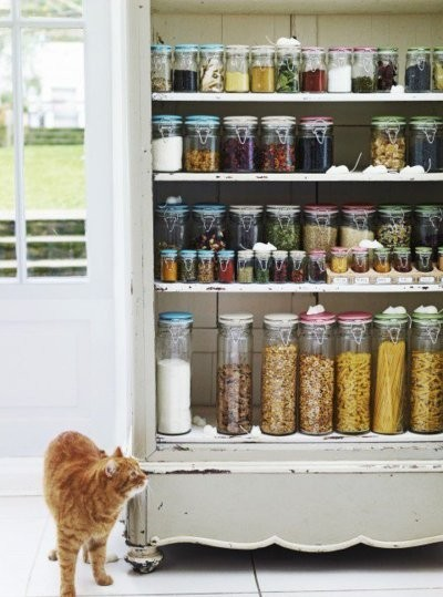Creative Kitchen Storage Ideas from Pinterest | Dig This Design