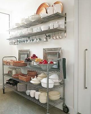 Creative Kitchen Storage Ideas From