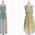 We are on the lookout for cute summer dresses to dazzle at our next formal event.  Whatever your style, ShopRuche.com will have what you're looking for.  Take a look at...