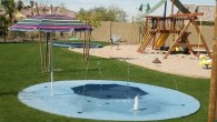 Private Splash Pad!