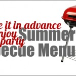 Make in Advance Summer Barbecue Recipes