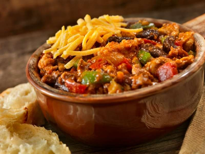 4 Healthy Game Day Foods for Football Season - Chili