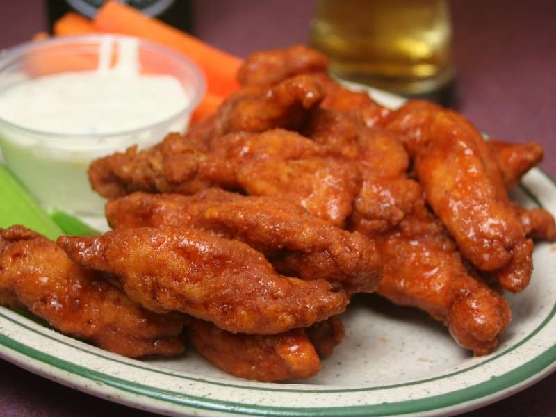 4 Healthy Game Day Foods for Football Season - buffalo chicken wings