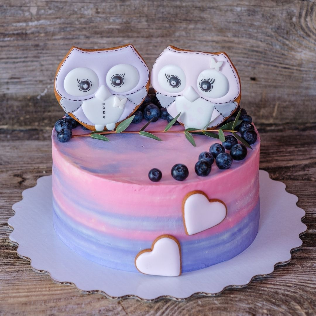 Using Owls as Cake Topping Decor