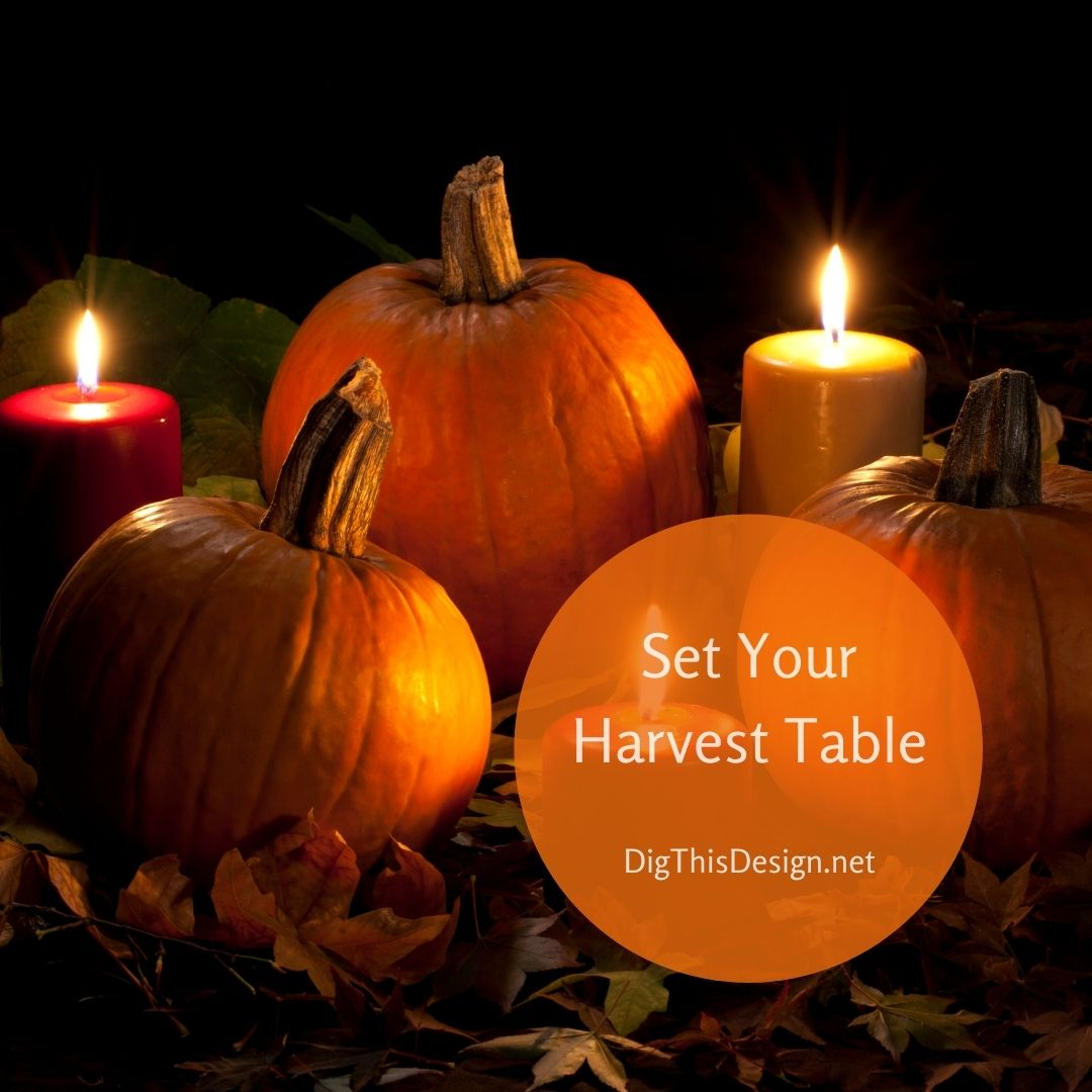 Set Your Harvest Table