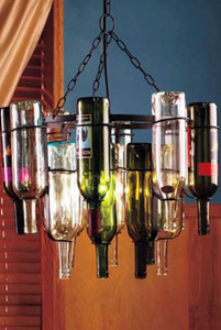 How to make wine bottle chandelier dig this design for How to make a bottle chandelier