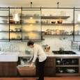 Open shelving in kitchens used to mean that you had an old, small kitchen and needed every inch of available space. But, now open shelves are making their way (beautifully)...