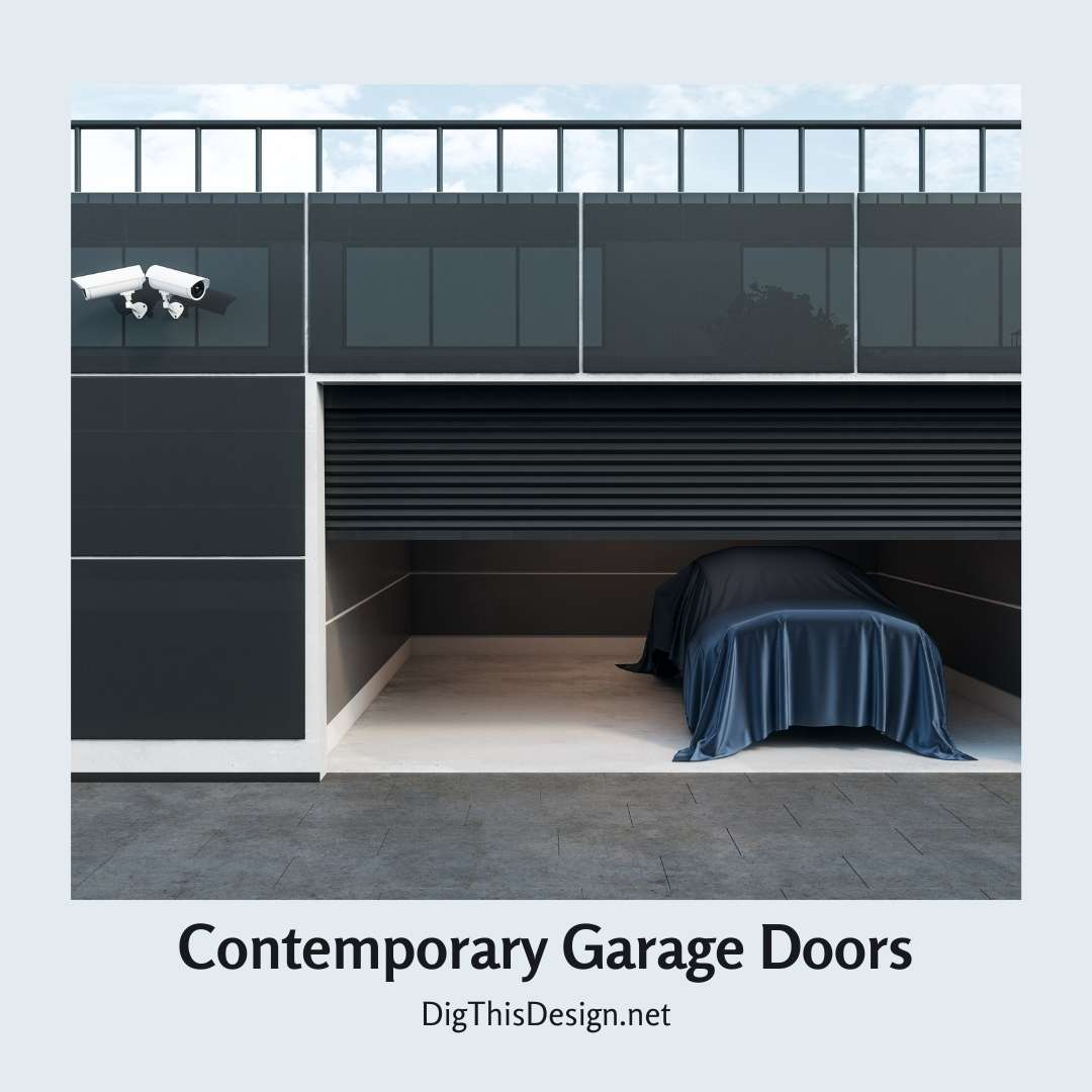 Contemporary Garage Door