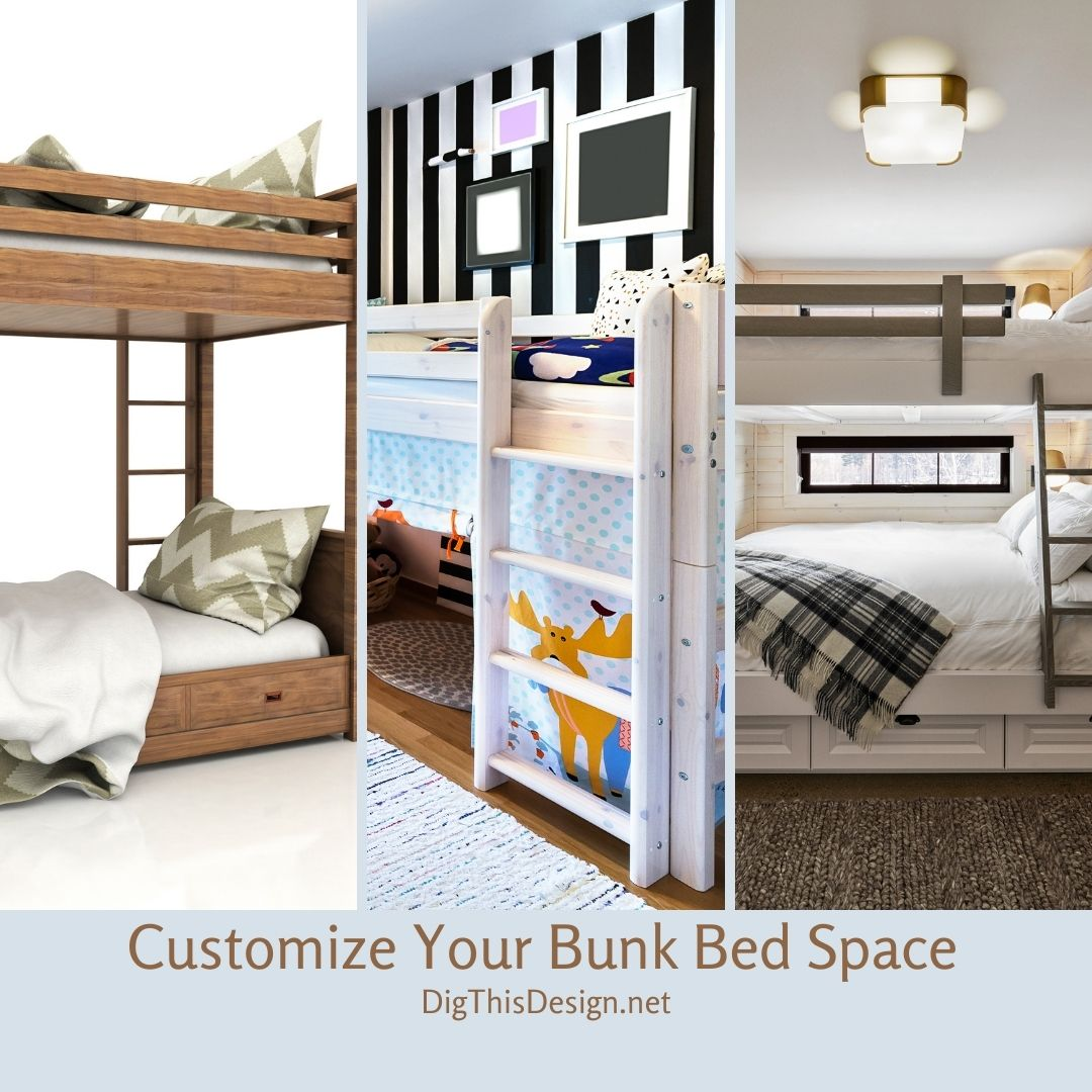 Customize Your Bunk Bed Space