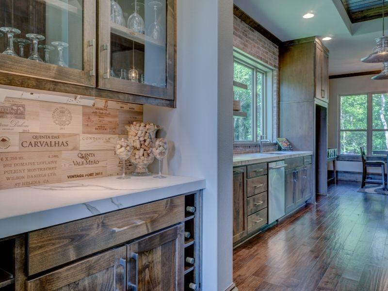 Stunning Ways To Wine Storage - Kitchen display