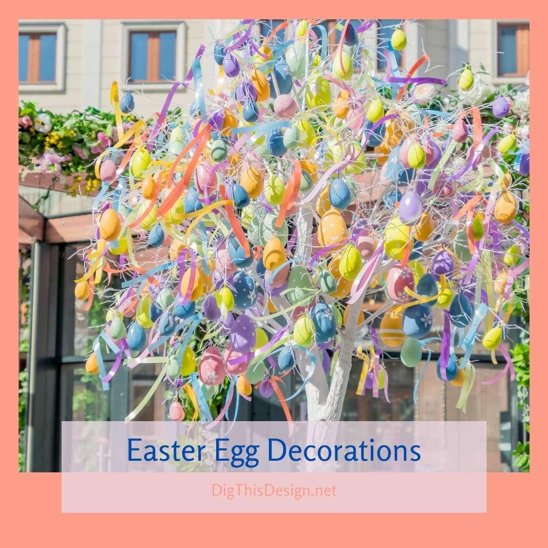 Easter Egg Trees