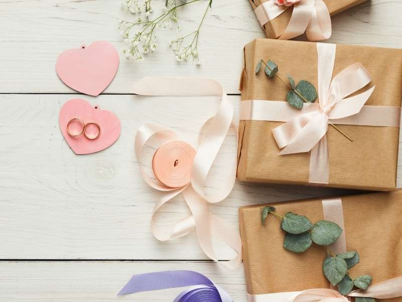 Gift Wrapping Inspirations for Weddings and Baby Showers