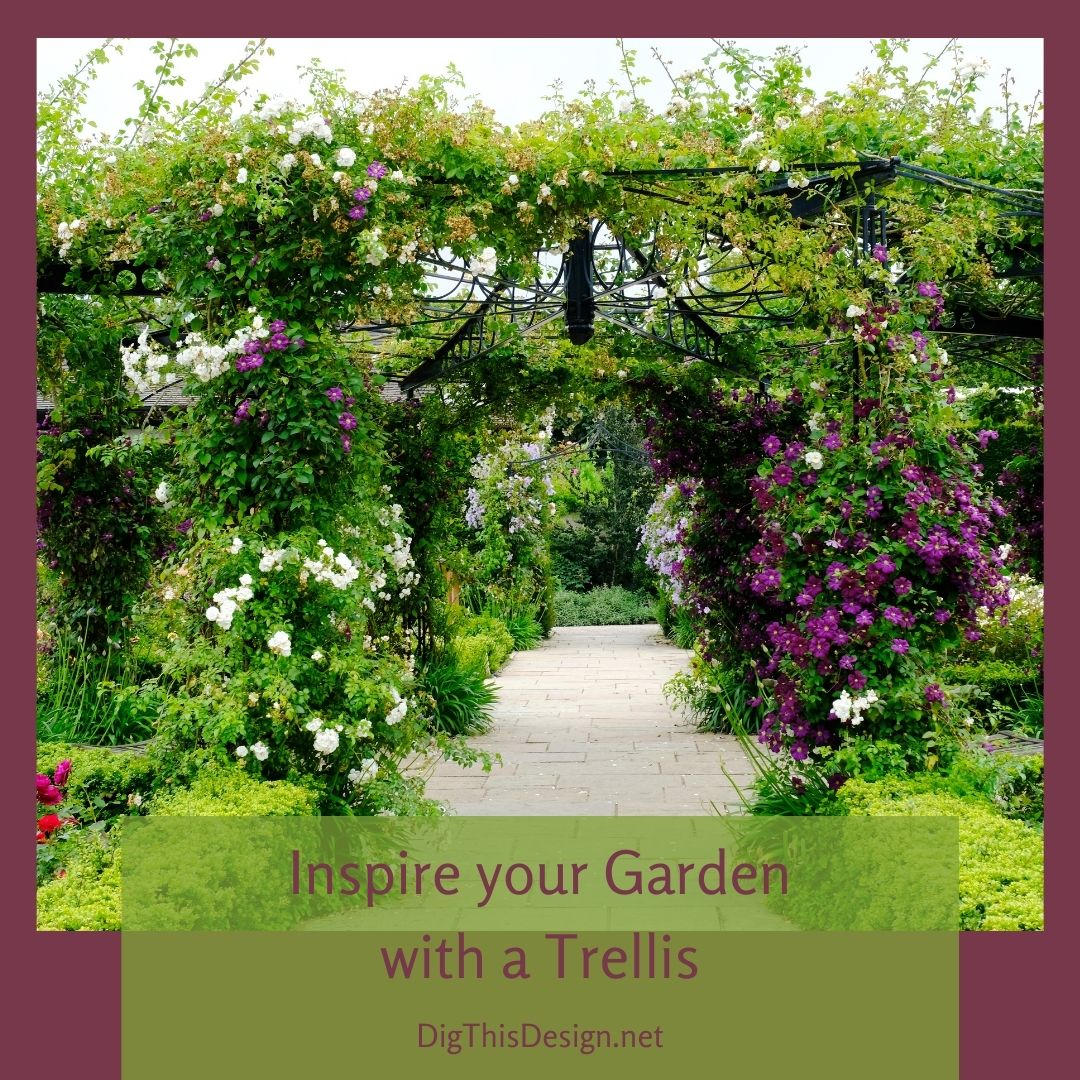 Inspire Your Garden With A Trellis