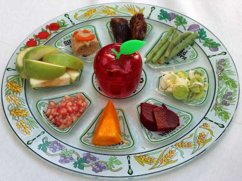 Inspiring Designs for Your Passover Seder Plates