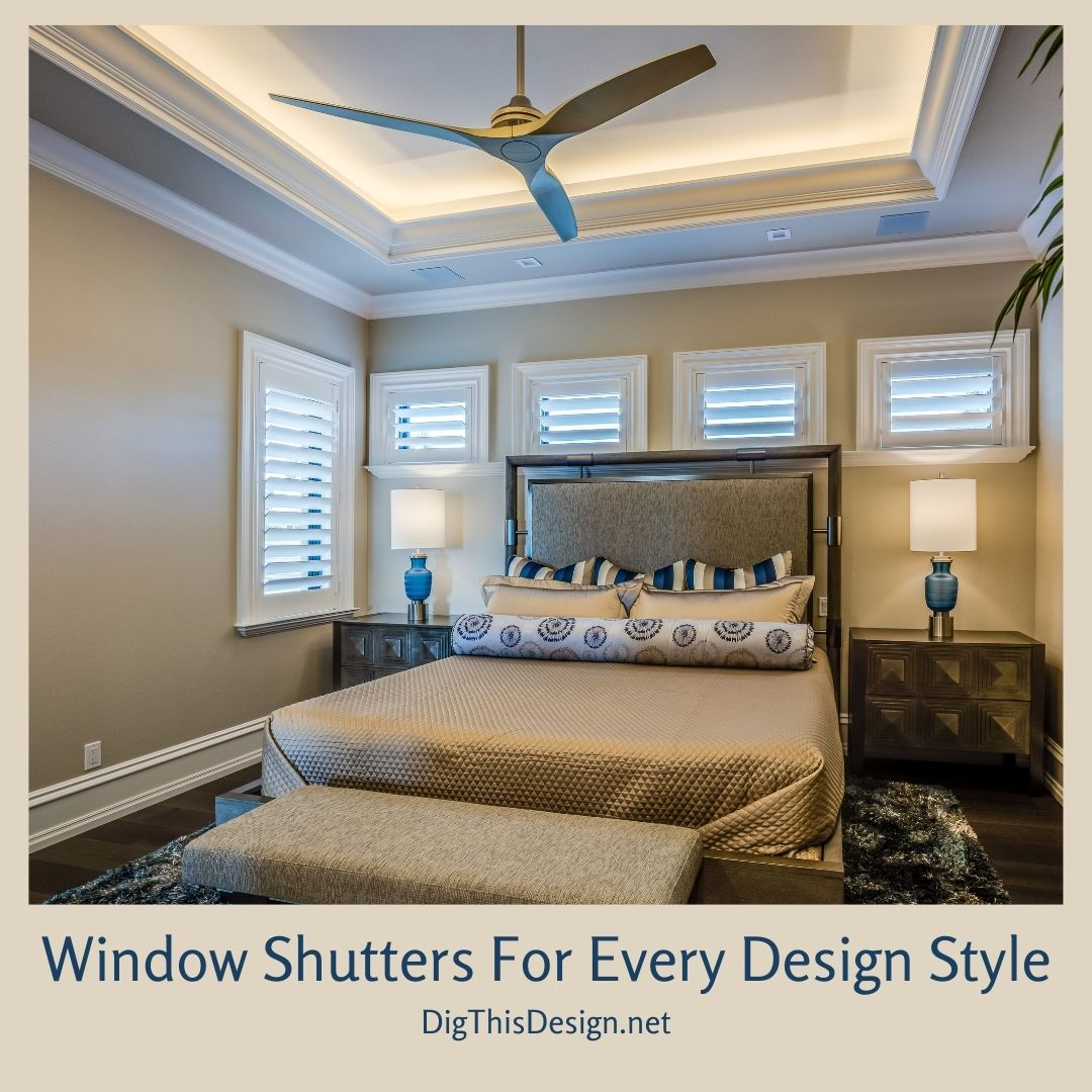 Window Shutters For Every Design Style
