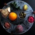 The Passover Seder Plate is a special plate containing symbolic foods eaten or displayed at the Passover Seder.   Each of the six items arranged on the plate have special significance...