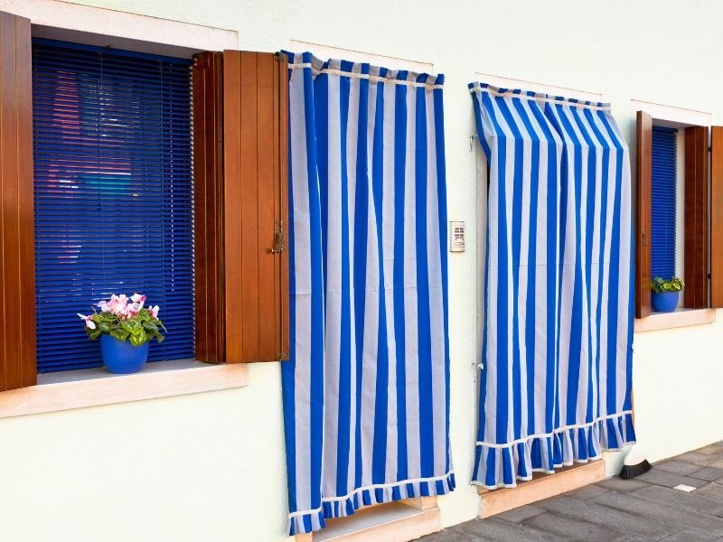 Style Trend Striped Curtains