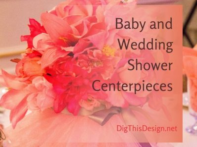 Baby And Wedding Shower Centerpieces