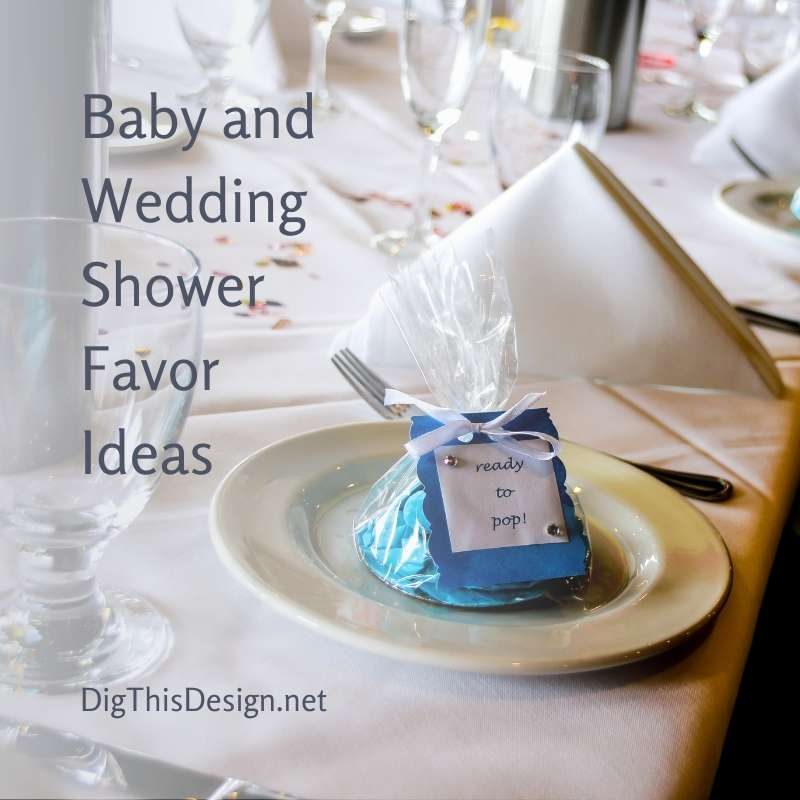 Baby and Wedding Shower Favor Ideas
