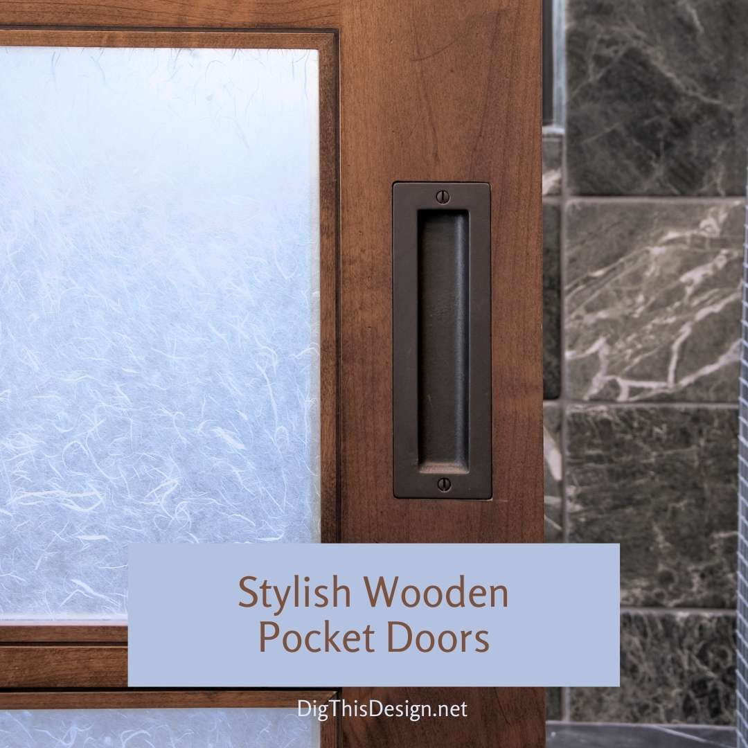 Stylish Wooden Pocket Doors