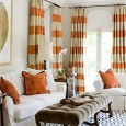 Stripes on your curtains do not have to be for a children's room or a circus-themed room.  Stripes can be stylish, elegant, and a fun fit for any room or...