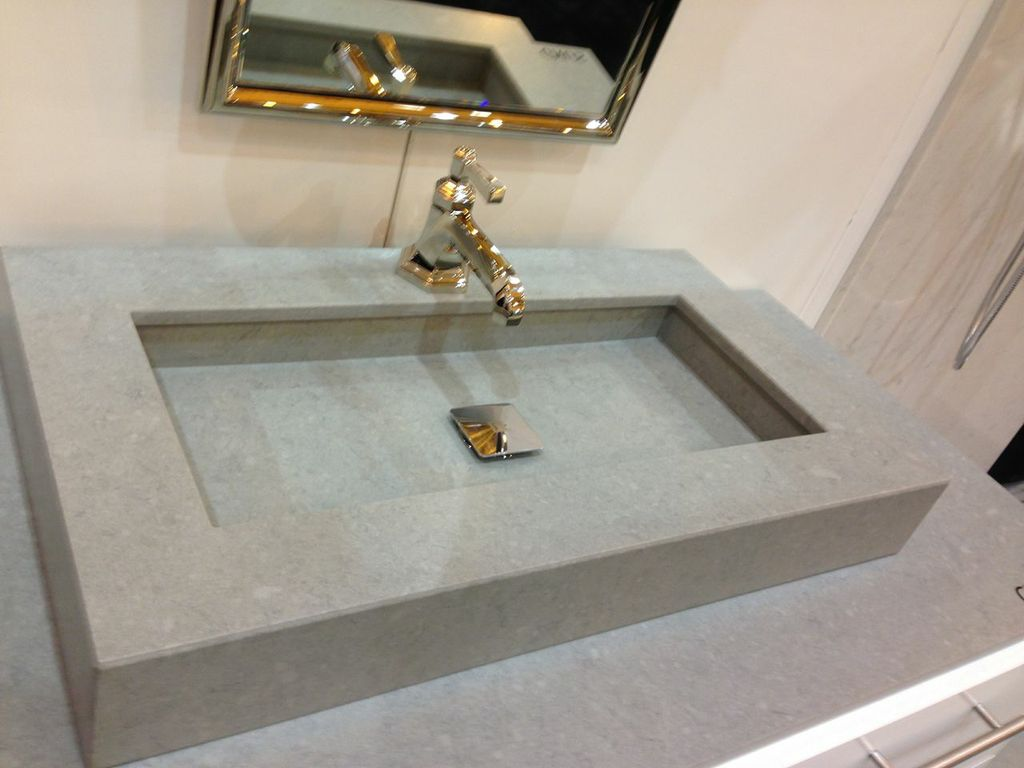 The new designs of silestone dig this design for Silestone sink