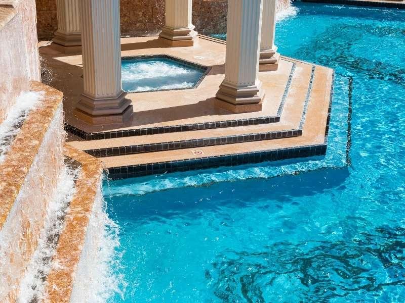 4 Gorgeous Backyard Pools - Backyard Summer Pool with Hot Tub