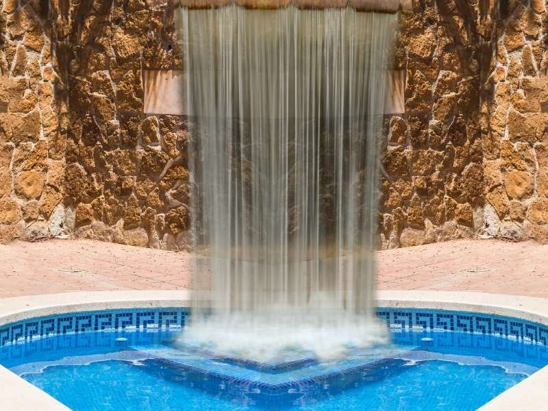 4 Gorgeous Backyard Pools - Gorgeous Pool with Waterfalls