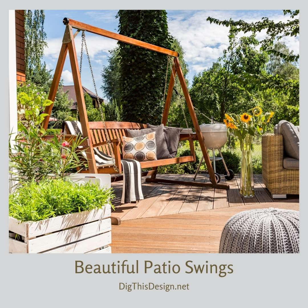 Beautiful Patio Swings