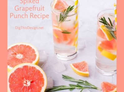 Spiked Grapefruit Punch Recipe