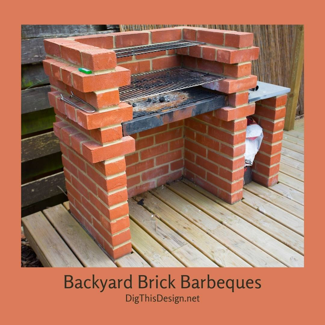 Backyard Brick Barbeques