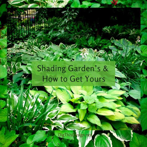 Shading Garden's & How to Get Yours