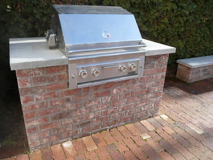 Permananet Brick Built Barbecue