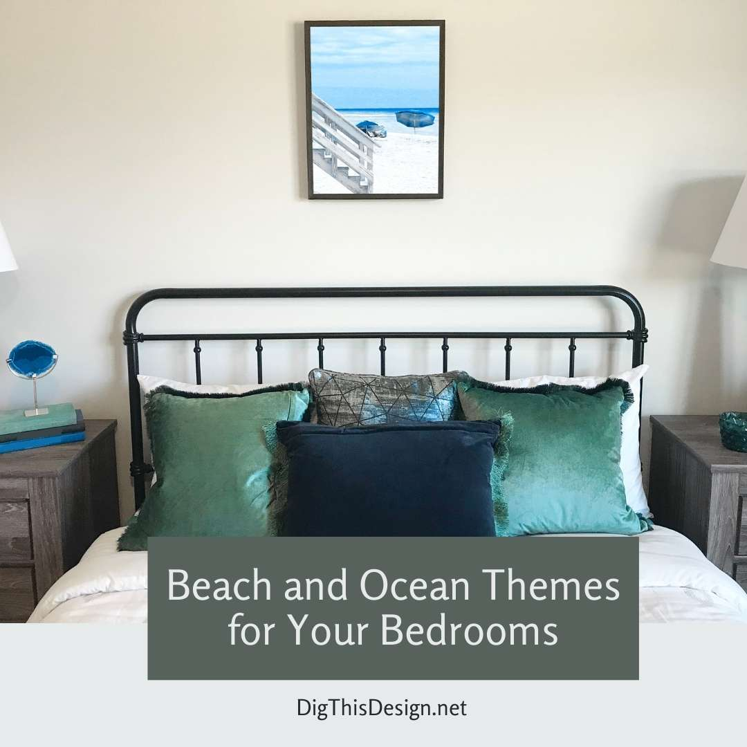 Beach and Ocean Themed Rooms