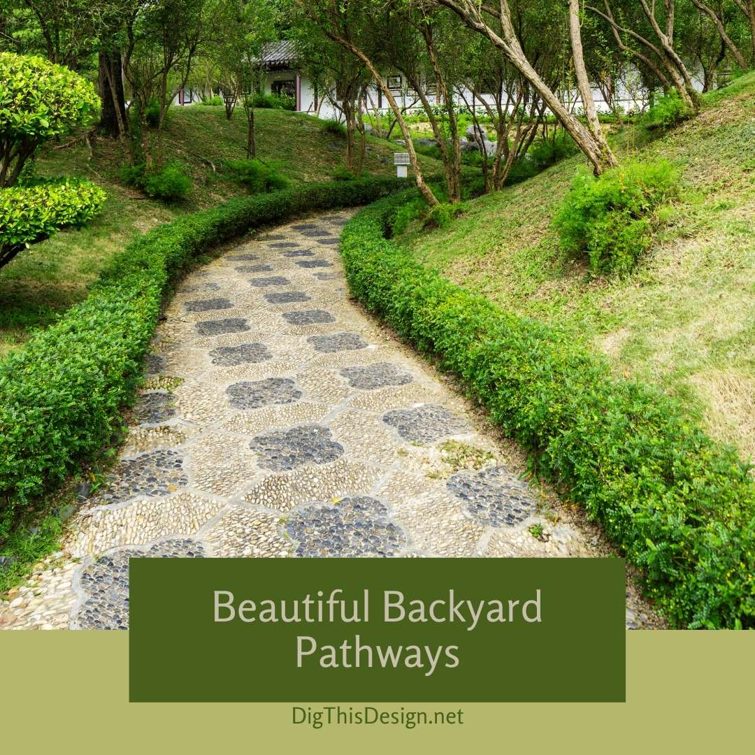 Beautiful Backyard Pathways