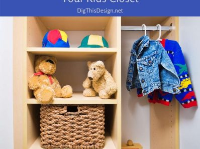 5 Tips To Organize Your Kids Closet