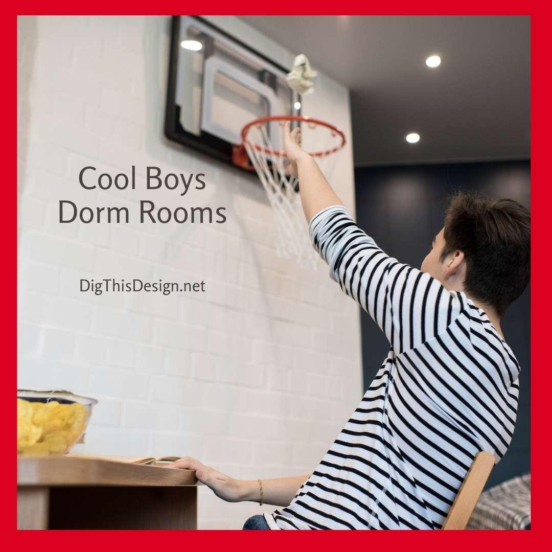 Cool Boys Dorm Rooms