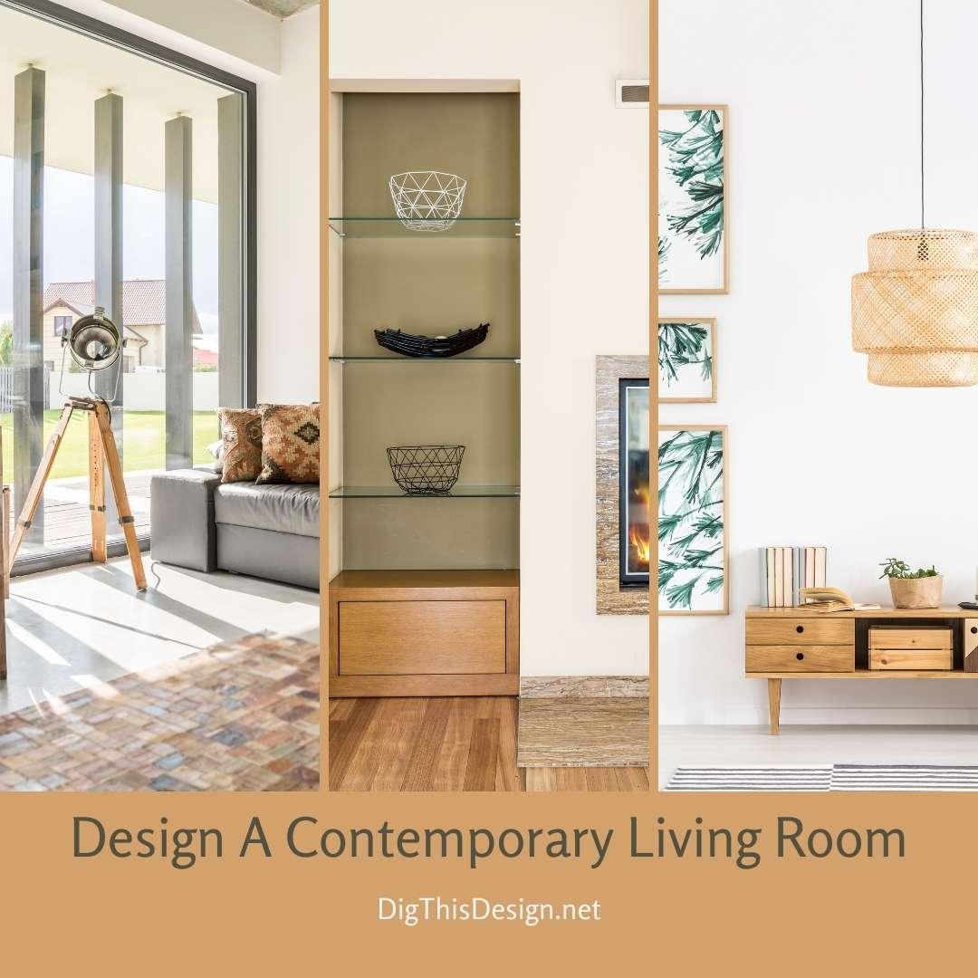 Design A Contemporary Living Room