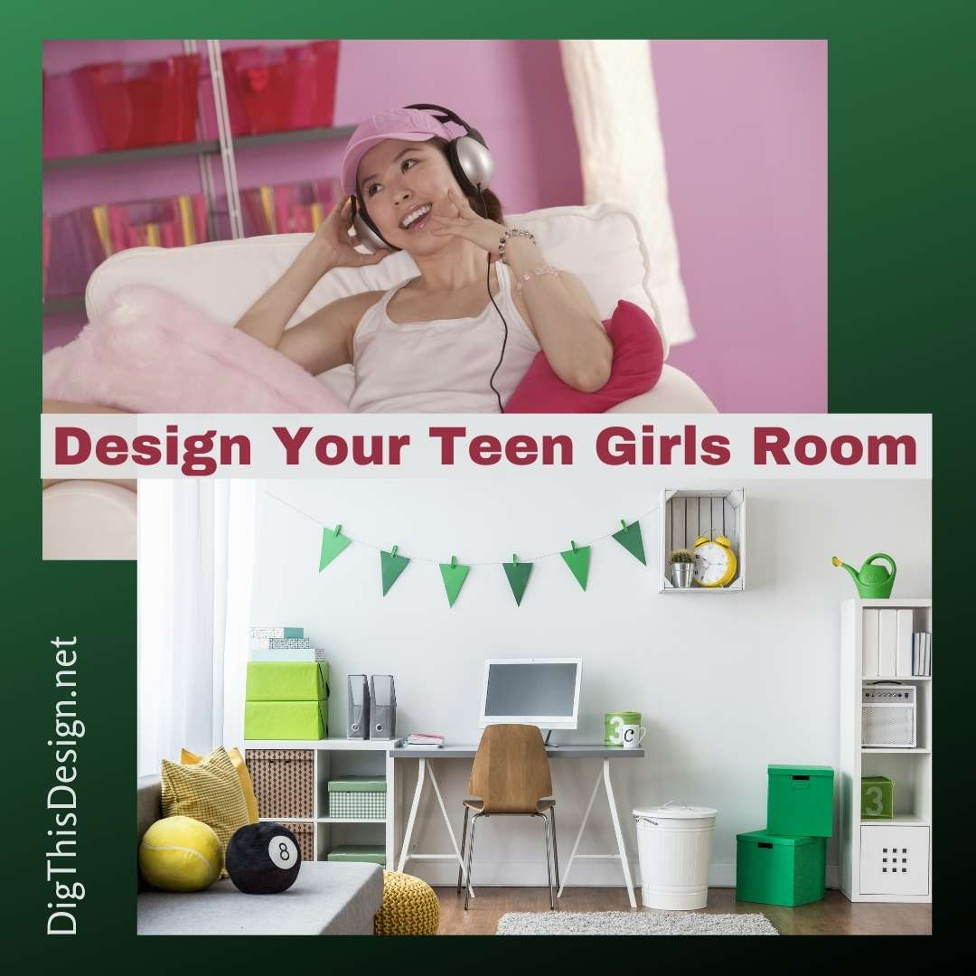 Design Your Teen Girls Room