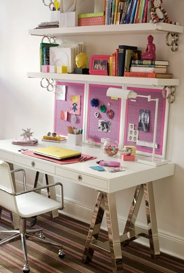 Stylish teen desks dig this design - Amazing teenage girl desks ...