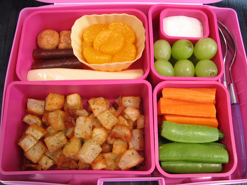 healthier school lunches To improve the health of schoolchildren, cafeteria food has become the target in programs designed to improve school lunches, making them healthier.